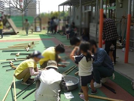 12 竹馬づくり(きれい家レオンOlive+ eco-project).JPG