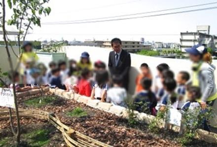 4 オリーブ贈呈式(きれい家レオンOlive+ eco-project).jpg