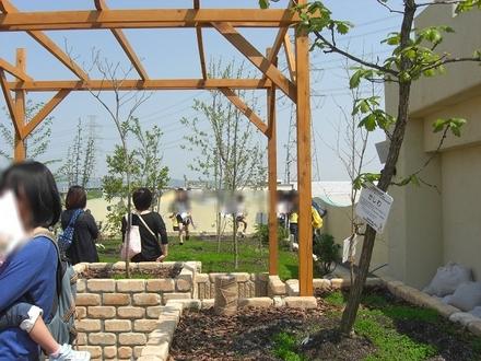 8 屋上庭園(きれい家レオンOlive+ eco-project).JPG